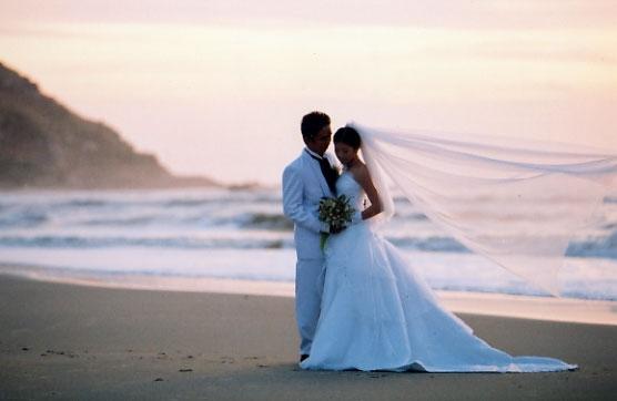 Romantično venčanje na otvorenom